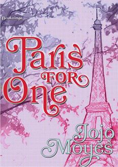 Leer Paris For One - Jojo Moyes (Online)